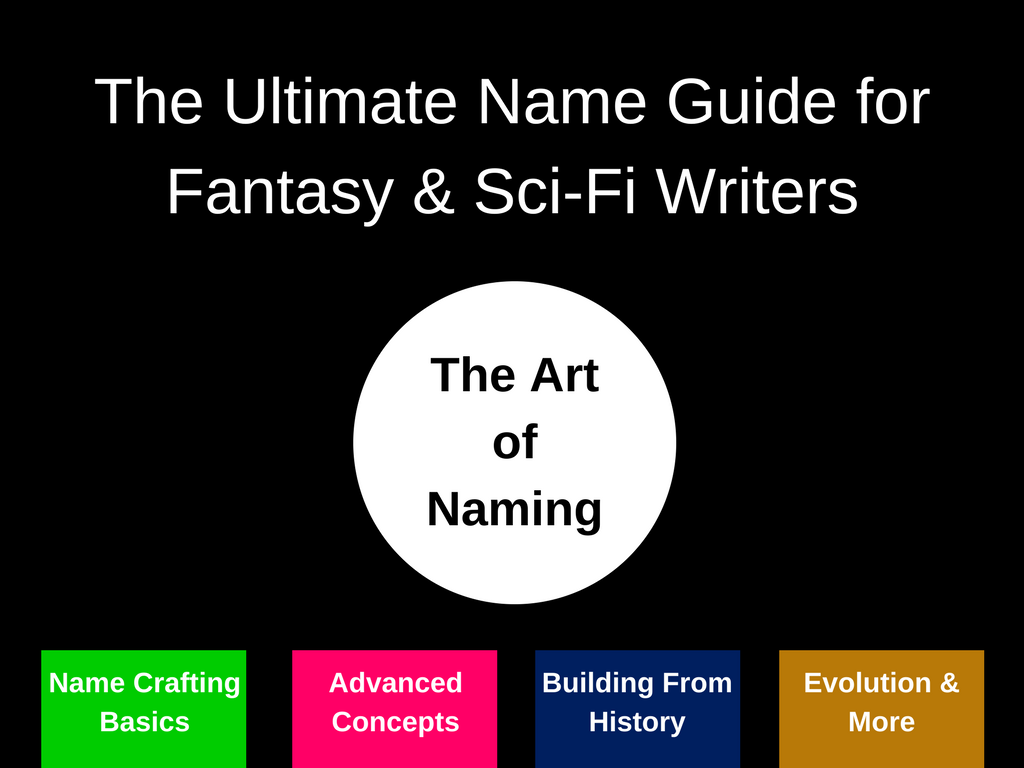 Ultimate Name Guide for Fantasy/Sci-Fi Writing & Worldbuilding